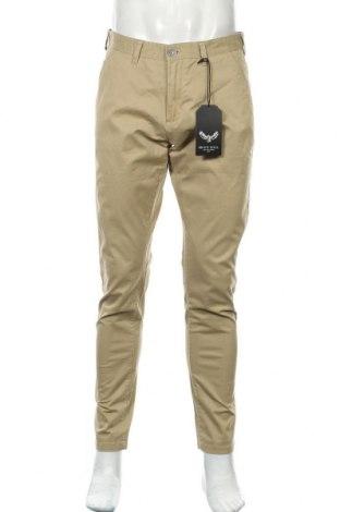 Мъжки панталон Brave Soul, Размер M, Цвят Бежов, 98% памук, 2% еластан, Цена 30,87лв.