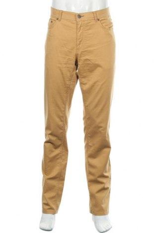 Мъжки панталон Brax, Размер L, Цвят Кафяв, 97% памук, 3% еластан, Цена 38,92лв.