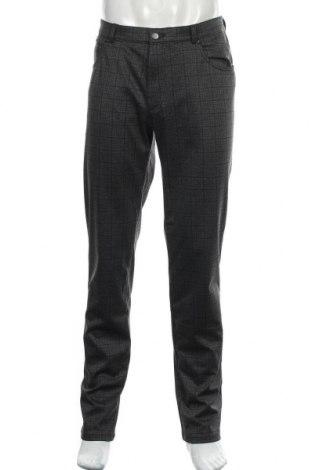 Мъжки панталон Bugatti, Размер L, Цвят Сив, 68% полиестер, 27% вискоза, 5% еластан, Цена 50,12лв.