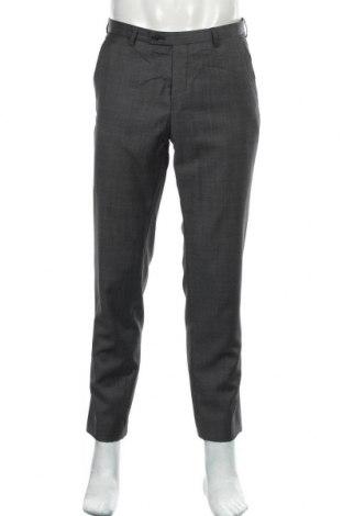 Мъжки панталон Club Of Gents, Размер M, Цвят Сив, 50% вълна, 50% полиестер, Цена 6,83лв.
