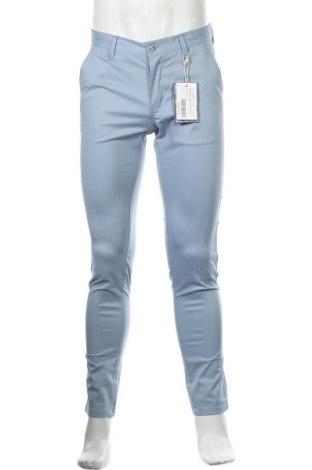 Мъжки панталон Dreimaster, Размер S, Цвят Син, 97% памук, 3% еластан, Цена 31,15лв.