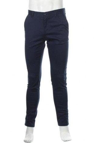 Мъжки панталон Dreimaster, Размер M, Цвят Син, 97% памук, 3% еластан, Цена 27,65лв.