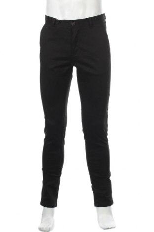Мъжки панталон Dreimaster, Размер M, Цвят Черен, 97% памук, 3% еластан, Цена 31,15лв.