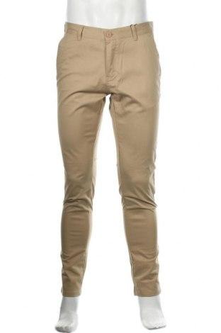 Мъжки панталон Dreimaster, Размер M, Цвят Бежов, 97% памук, 3% еластан, Цена 27,65лв.