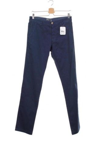 Мъжки панталон Grayson, Размер S, Цвят Син, 97% памук, 3% еластан, Цена 17,25лв.