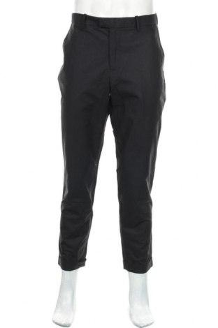 Pantaloni de bărbați H&M, Mărime XL, Culoare Negru, 97% bumbac, 3% elastan, Preț 19,90 Lei