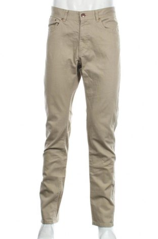 Pantaloni de bărbați H&M Divided, Mărime L, Culoare Bej, Bumbac, Preț 43,42 Lei