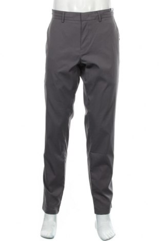 Pantaloni de bărbați Hugo Boss, Mărime L, Culoare Gri, Poliester, Preț 312,24 Lei