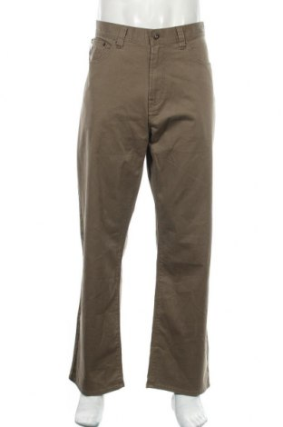 Мъжки панталон Kirkland, Размер XL, Цвят Кафяв, 97% памук, 3% еластан, Цена 35,91лв.