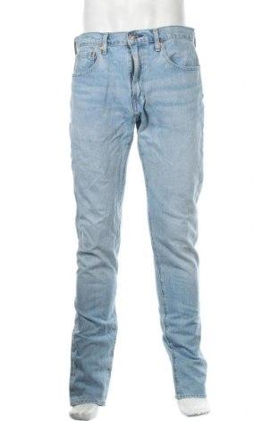 Мъжки панталон Levi's, Размер L, Цвят Син, 79% памук, 20% други тъкани, 1% еластан, Цена 38,00лв.