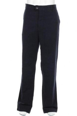 Мъжки панталон Marks & Spencer, Размер XL, Цвят Син, Памук, Цена 14,40лв.