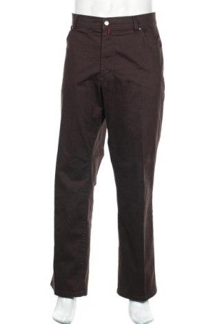 Мъжки панталон Pierre Cardin, Размер XL, Цвят Кафяв, 98% памук, 2% еластан, Цена 14,85лв.