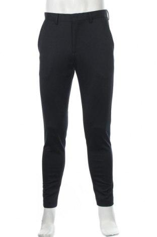 Мъжки панталон Primark, Размер M, Цвят Син, 77% полиестер, 23% памук, Цена 6,04лв.