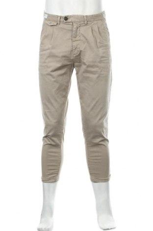 Pantaloni de bărbați Replay, Mărime M, Culoare Bej, 98% bumbac, 2% elastan, Preț 195,95 Lei