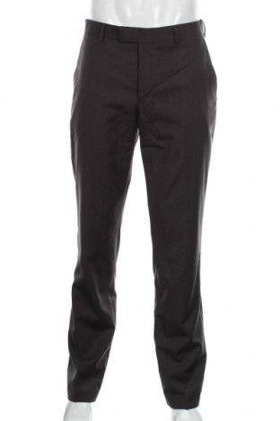 Мъжки панталон S.Oliver, Размер M, Цвят Кафяв, 100% вълна, Цена 15,75лв.