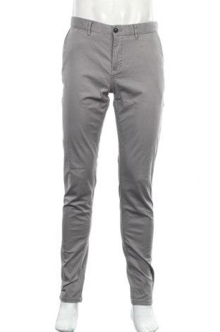 Мъжки панталон Scotch & Soda, Размер M, Цвят Сив, 8% памук, 2% еластан, Цена 12,60лв.