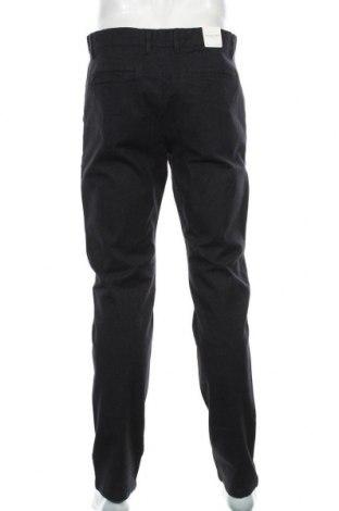 Мъжки панталон Selected Homme, Размер L, Цвят Черен, 98% памук, 2% полиестер, Цена 81,75лв.