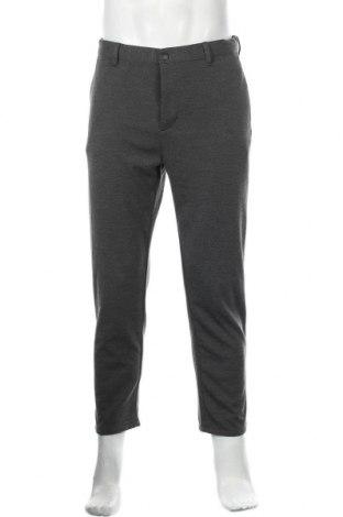Мъжки панталон Zara, Размер M, Цвят Сив, 89% полиестер, 11% вискоза, Цена 20,70лв.