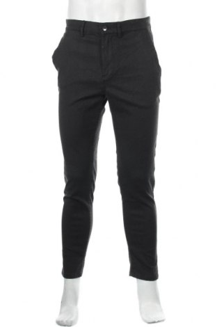 Мъжки панталон Zara, Размер L, Цвят Сив, 43% полиестер, 31% лиосел, 16% вискоза, 5% полиамид, 3% памук, 2% еластан, Цена 19,20лв.