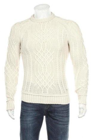 Мъжки пуловер Angelo Litrico, Размер S, Цвят Бежов, 87% акрил, 13% вълна, Цена 6,56лв.