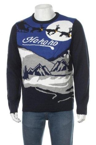 Ανδρικό πουλόβερ Angelo Litrico, Μέγεθος L, Χρώμα Πολύχρωμο, Ακρυλικό, Τιμή 14,29€