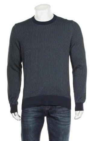 Мъжки пуловер Armedangels, Размер M, Цвят Син, Памук, Цена 42,57лв.