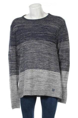 Мъжки пуловер Blend, Размер XL, Цвят Син, Памук, Цена 51,35лв.