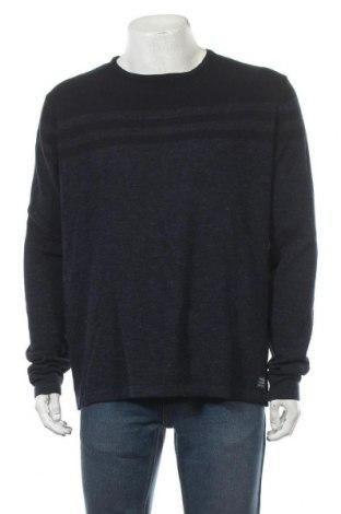 Мъжки пуловер Blend, Размер XL, Цвят Син, Памук, Цена 44,85лв.