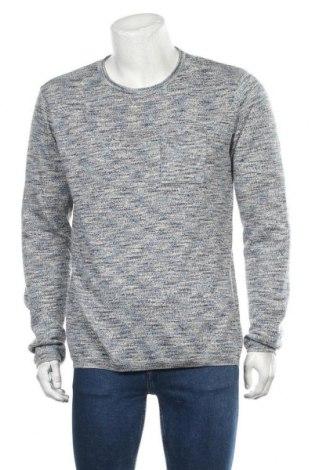 Мъжки пуловер Blend, Размер XL, Цвят Сив, 46% памук, 37% акрил, 17% полиестер, Цена 38,35лв.
