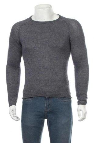 Мъжки пуловер Blend, Размер S, Цвят Син, 50% памук, 50% акрил, Цена 21,42лв.