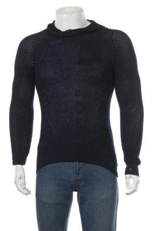 Мъжки пуловер Brave Soul, Размер S, Цвят Син, 100% полиестер, Цена 31,05лв.