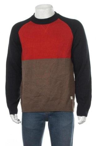 Мъжки пуловер C&A, Размер L, Цвят Многоцветен, 85% акрил, 15% вълна, Цена 23,21лв.