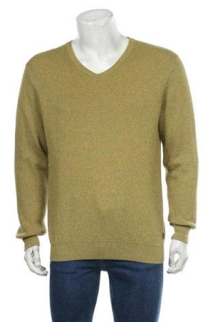 Мъжки пуловер Casa Moda, Размер M, Цвят Зелен, Памук, Цена 21,42лв.