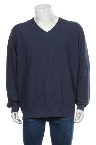 Мъжки пуловер Christian Berg, Размер 3XL, Цвят Син, Памук, Цена 22,79лв.