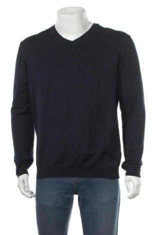 Мъжки пуловер Decathlon, Размер XL, Цвят Син, Памук, Цена 10,29лв.