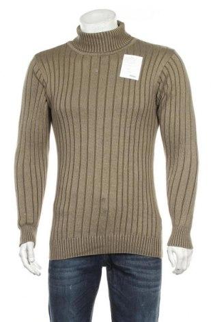 Мъжки пуловер Explorer, Размер S, Цвят Зелен, Памук, Цена 32,13лв.