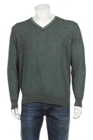 Мъжки пуловер Hajo, Размер M, Цвят Зелен, Цена 24,10лв.