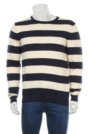 Мъжки пуловер Jean Pascale, Размер L, Цвят Екрю, Памук, Цена 25,88лв.