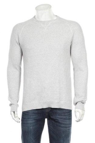 Мъжки пуловер Jules, Размер L, Цвят Сив, Памук, Цена 23,21лв.