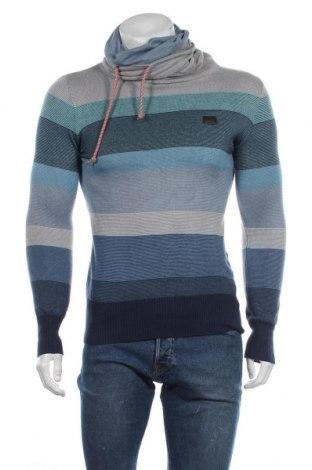 Мъжки пуловер Kappa, Размер S, Цвят Многоцветен, Памук, Цена 29,30лв.