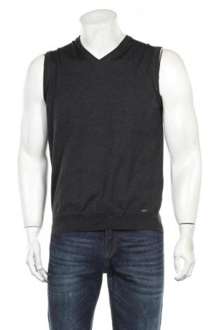 Мъжки пуловер Olymp, Размер S, Цвят Сив, Вискоза, вълна, Цена 23,21лв.
