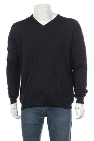 Мъжки пуловер Olymp, Размер XL, Цвят Син, Вълна, Цена 24,10лв.