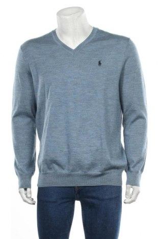 Pánský svetr  Polo By Ralph Lauren, Velikost L, Barva Modrá, Merino , Cena  2091,00Kč