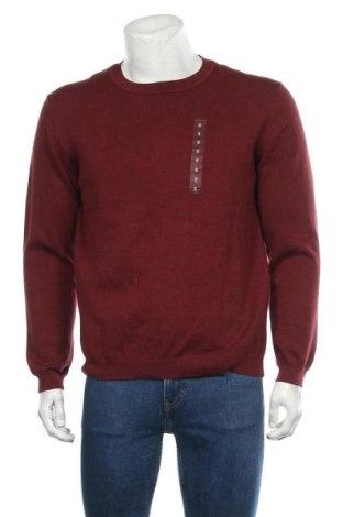 Мъжки пуловер Reserve, Размер S, Цвят Кафяв, 90% памук, 10% полиамид, Цена 32,13лв.