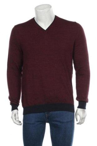 Мъжки пуловер Royal Class, Размер M, Цвят Червен, 51% вълна от алпака, 49% памук, Цена 23,21лв.