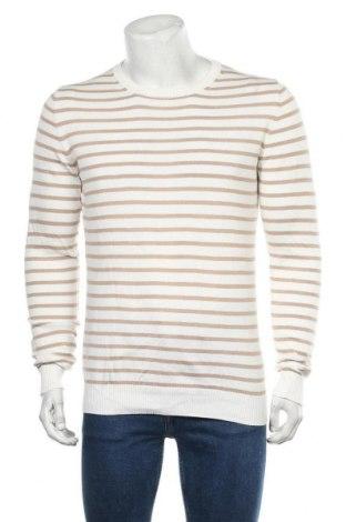 Мъжки пуловер Royal Class, Размер M, Цвят Бял, Памук, Цена 22,31лв.