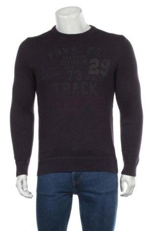 Ανδρικό πουλόβερ S.Oliver, Μέγεθος S, Χρώμα Βιολετί, Βαμβάκι, Τιμή 7,27€