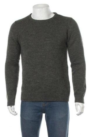 Мъжки пуловер SUIT, Размер M, Цвят Зелен, 70% акрил, 30% вълна, Цена 15,12лв.