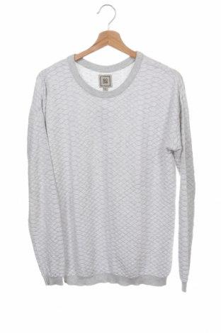 Мъжки пуловер Soda, Размер XS, Цвят Сив, Памук, Цена 30,35лв.
