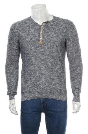 Мъжки пуловер Tom Tailor, Размер M, Цвят Син, Памук, Цена 32,13лв.